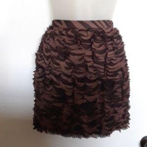 NWT Michael Kors Ruffle Skirt Size 10